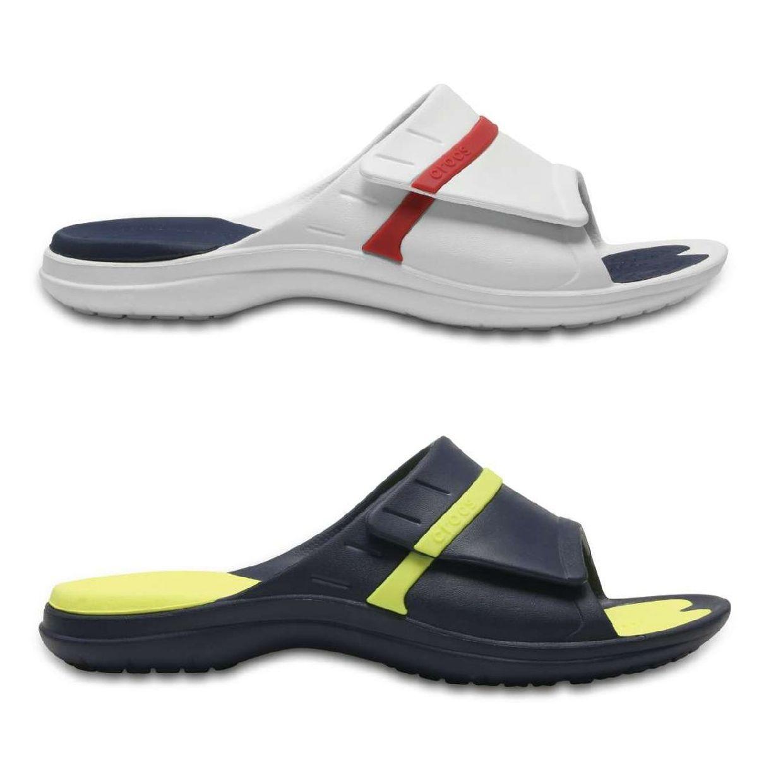 Crocs MODI Sport Slide Sandalen Synthetik Unisex Schuhe FS18