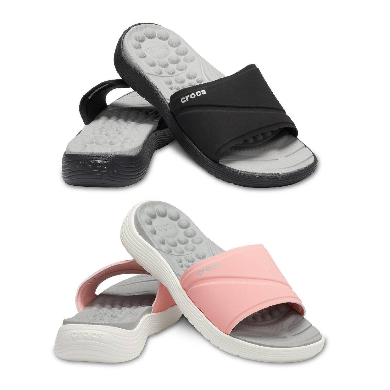 Crocs Reviva Slide W Sandalen Synthetik Damen Schuhe HW19