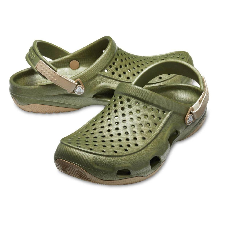 Crocs Swiftwater Deck Clog M Clogs Hausschuhe Synthetik Unisex Schuhe FS19