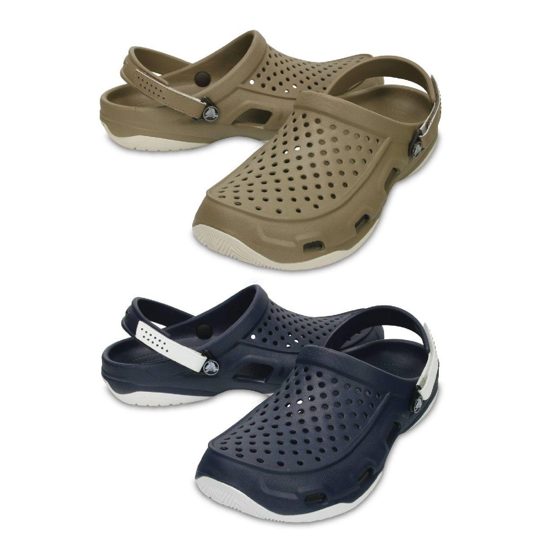 Crocs Swiftwater Deck Clog Clogs Hausschuhe Synthetik Unisex Schuhe CO