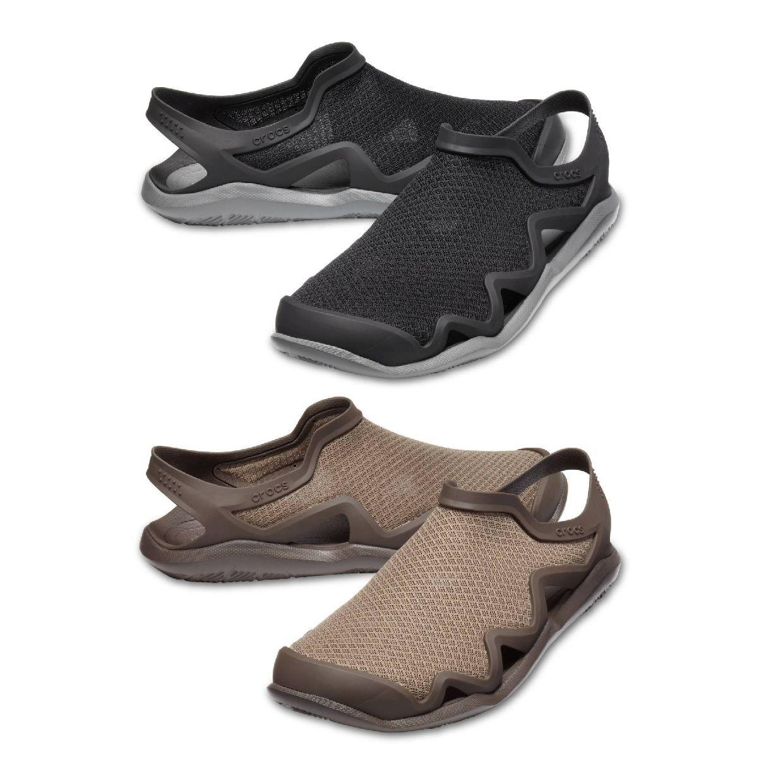 Crocs Swiftwater Mesh Wave M Clogs Hausschuhe Synthetik Unisex Schuhe FS19