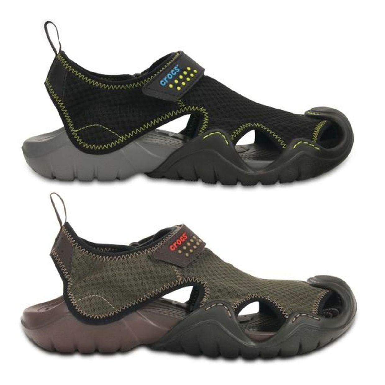 Crocs Swiftwater Sandal Clogs Hausschuhe Synthetik Unisex Schuhe CO