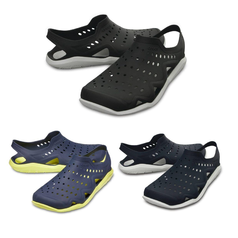 Crocs Swiftwater Wave M Clogs Hausschuhe Synthetik Unisex Schuhe FS19