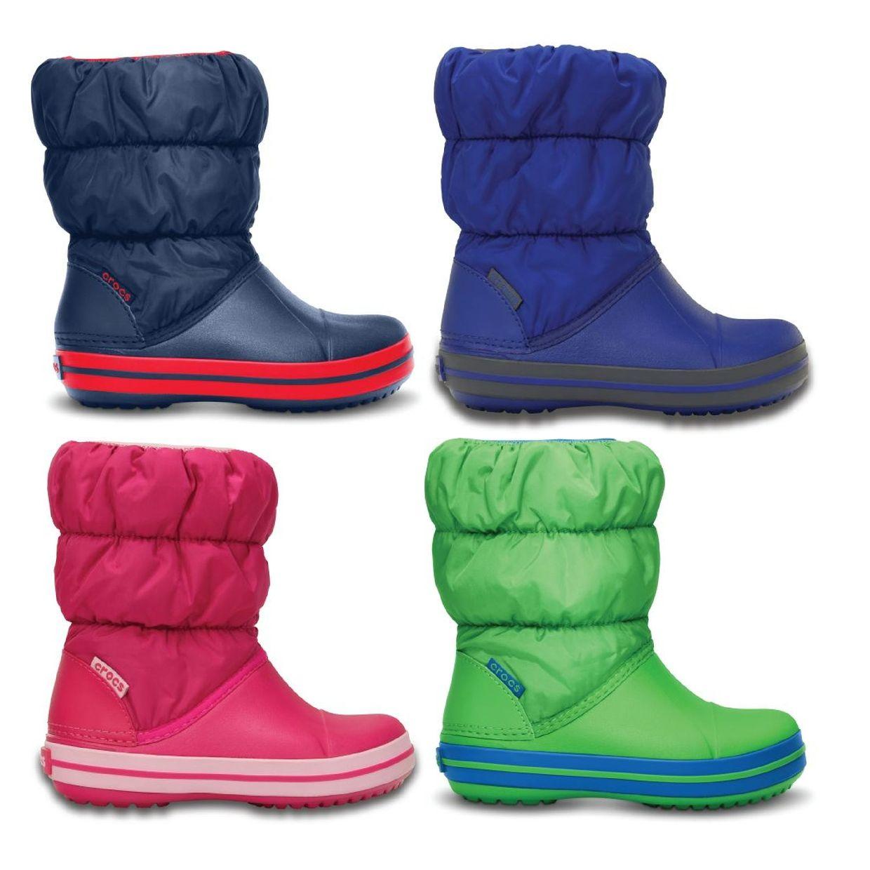 Crocs Winter Puff Boot Kids Gummistiefel Stiefel Synthetik Kinder Schuhe HW16