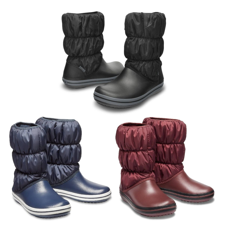 Crocs Winter Puff Boot Women Stiefel Gefütterte Synthetik Damen HW19
