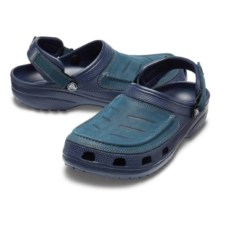 Crocs Yukon Vista Clog M Clogs Hausschuhe Leder Synthetik Unisex Schuhe HW19