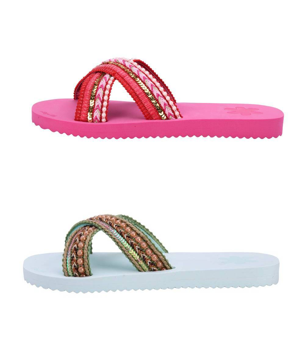 FLIP*FLOP Cross Ibiza Sandalen Freizeitschuhe Cotton Schuhe