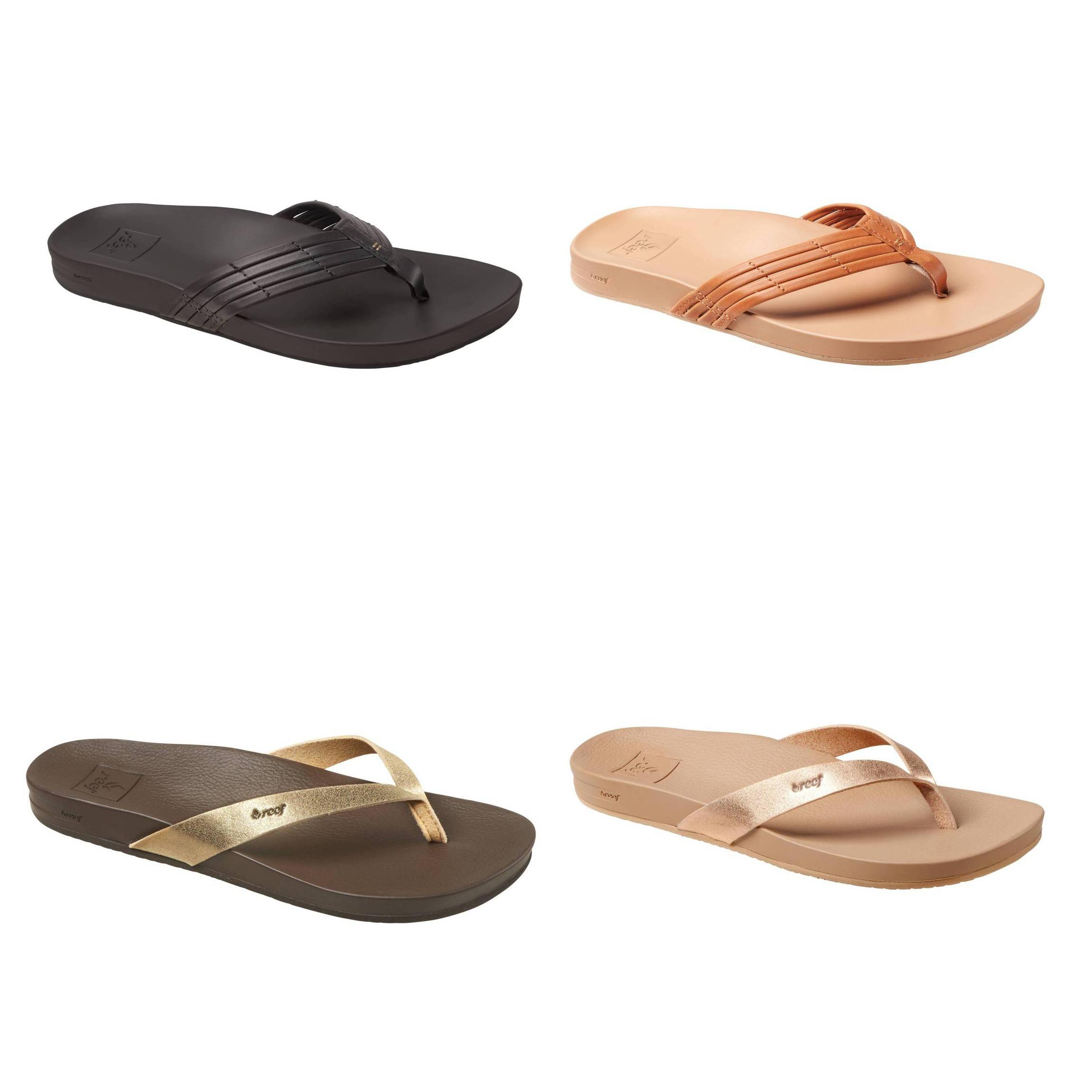 REEF Cushion Bounce Sunny Zehentrenner Zehenstegsandale Schuhe