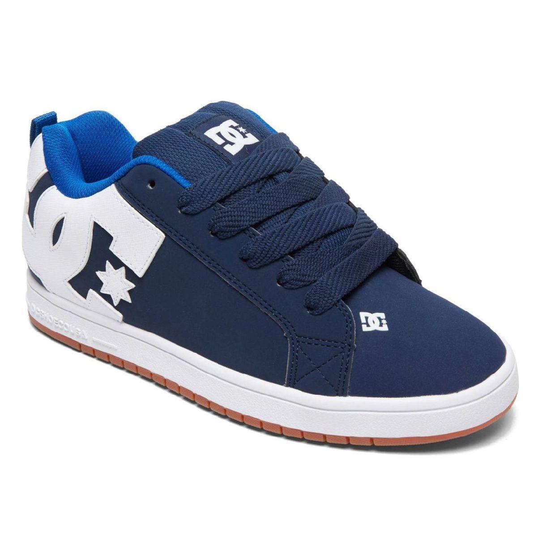 DC Shoes Court Graffik Sneaker Halbschuhe Leder Herren Schuhe HW18