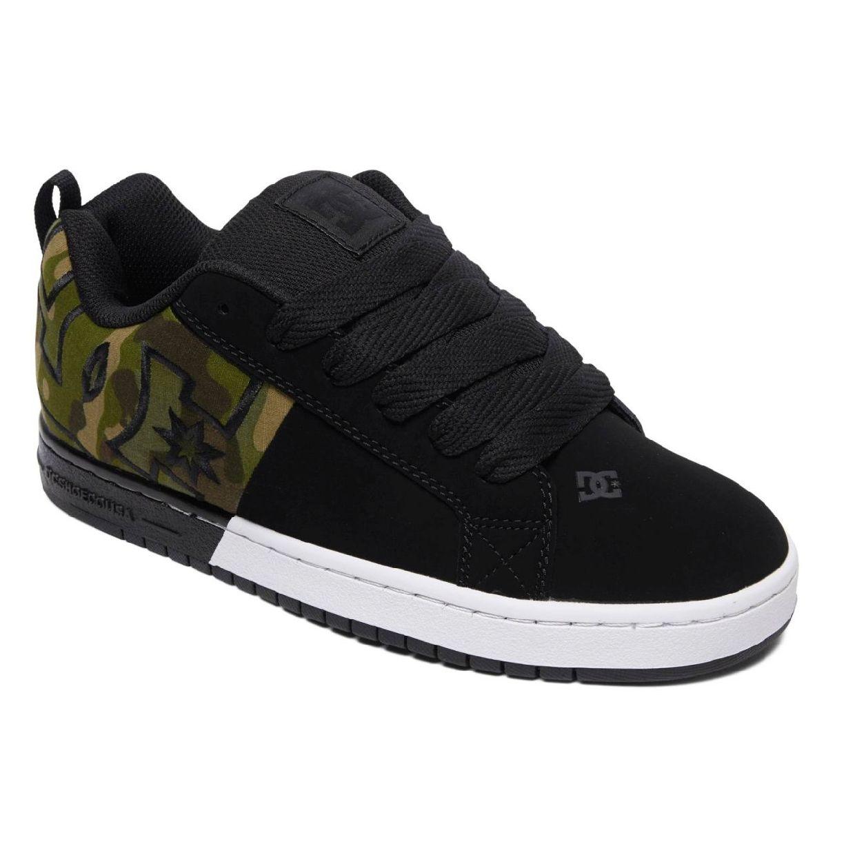 DC Shoes CT Graffik SQ M Sneaker Halbschuhe Leder Textil Herren Schuhe HW19