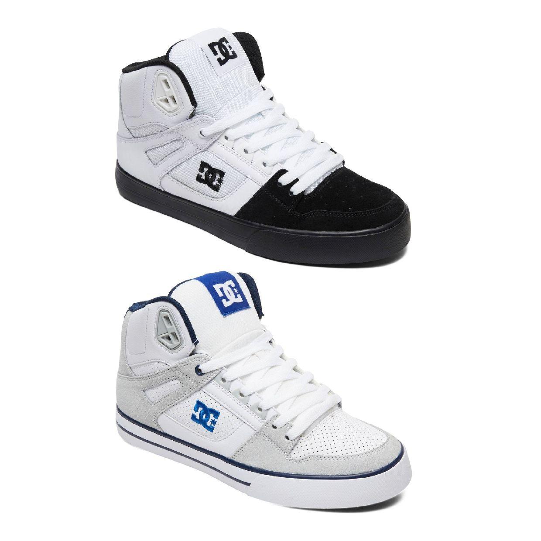 DC Shoes Pure HAT Sneaker Chukkas Leder Herren Schuhe FS19