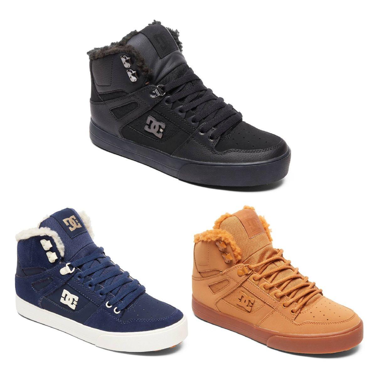DC Shoes Pure HT WC Winter Sneaker Halbschuhe Leder Herren Schuhe HW18