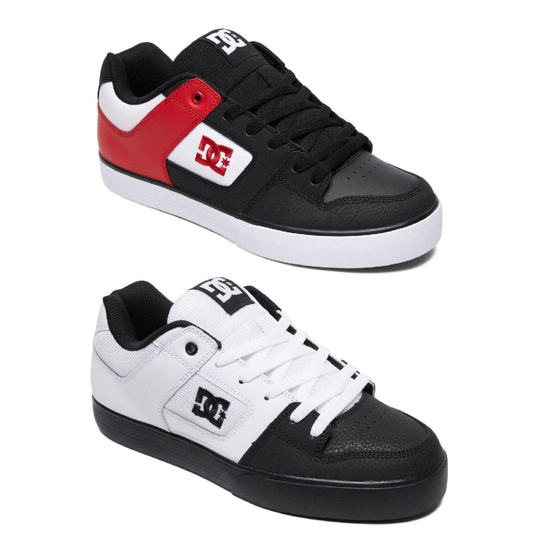 DC Shoes Pure Sneaker Halbschuhe Leder Herren Schuhe FS19