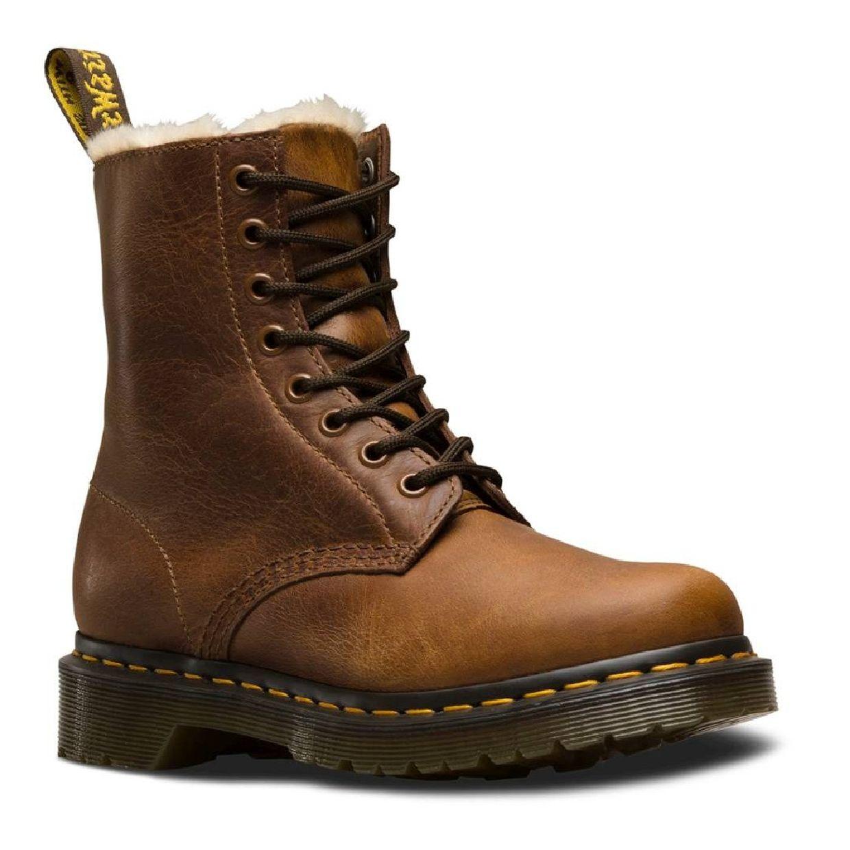 Dr. Martens 1460 Serena 8-Eye Boot Stiefel Schnürschuhe Leder Damen Schuhe HW18
