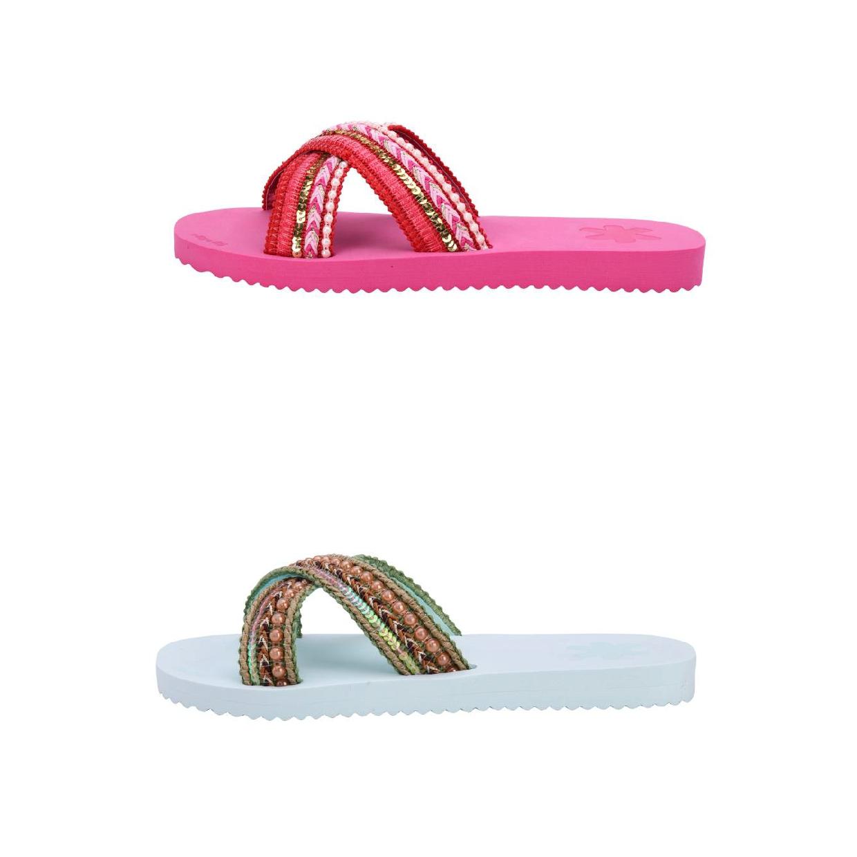 Flip*Flop Cross Ibiza Sandalen Baumwolle Damen Schuhe FS18