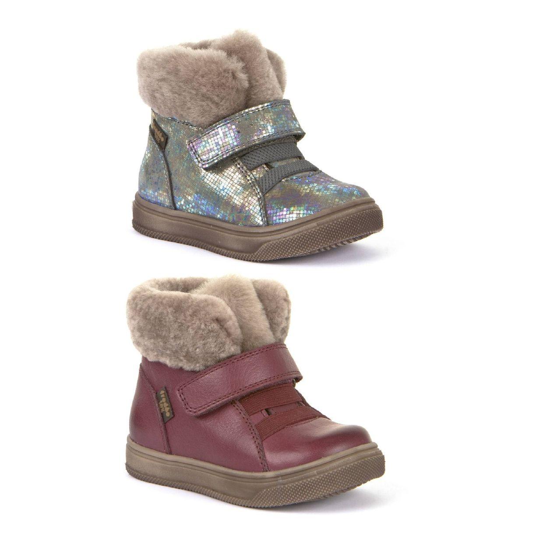 Froddo G2110072 Stiefel Klettverschluss Leder Kinder Schuhe HW19