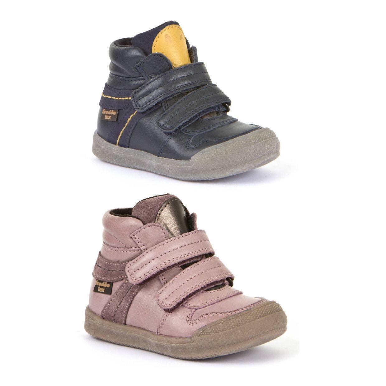 Froddo G2110075 Stiefel Klettverschluss Leder Kinder Schuhe HW19