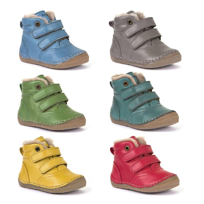 Froddo G2110078 Stiefel Klettverschluss Leder Kinder Schuhe HW19