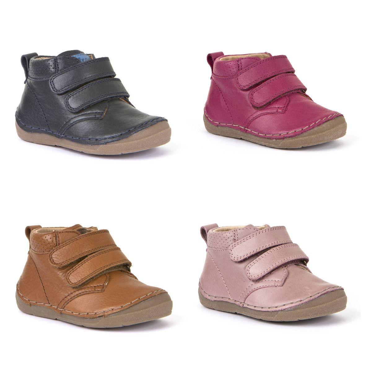 Froddo G2130175 Stiefel Klettverschluss Leder Kinder Schuhe HW19