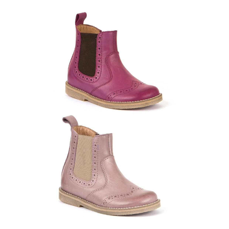 Froddo G3160100 Stiefel Chelsea Leder Kinder Schuhe HW19