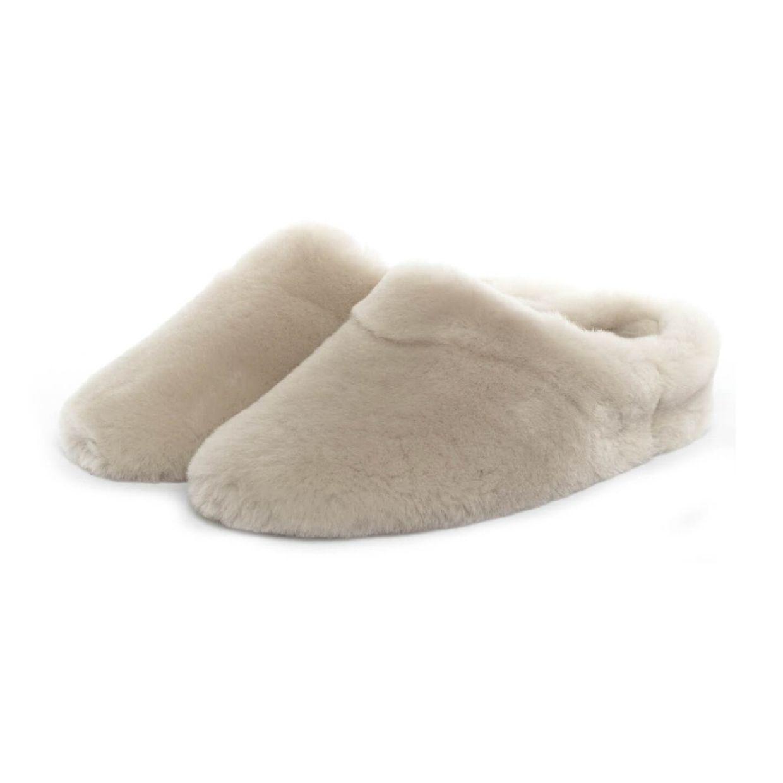 Giesswein Gerolding Sandalen Hausschuhe Lammfell Damen Schuhe CO