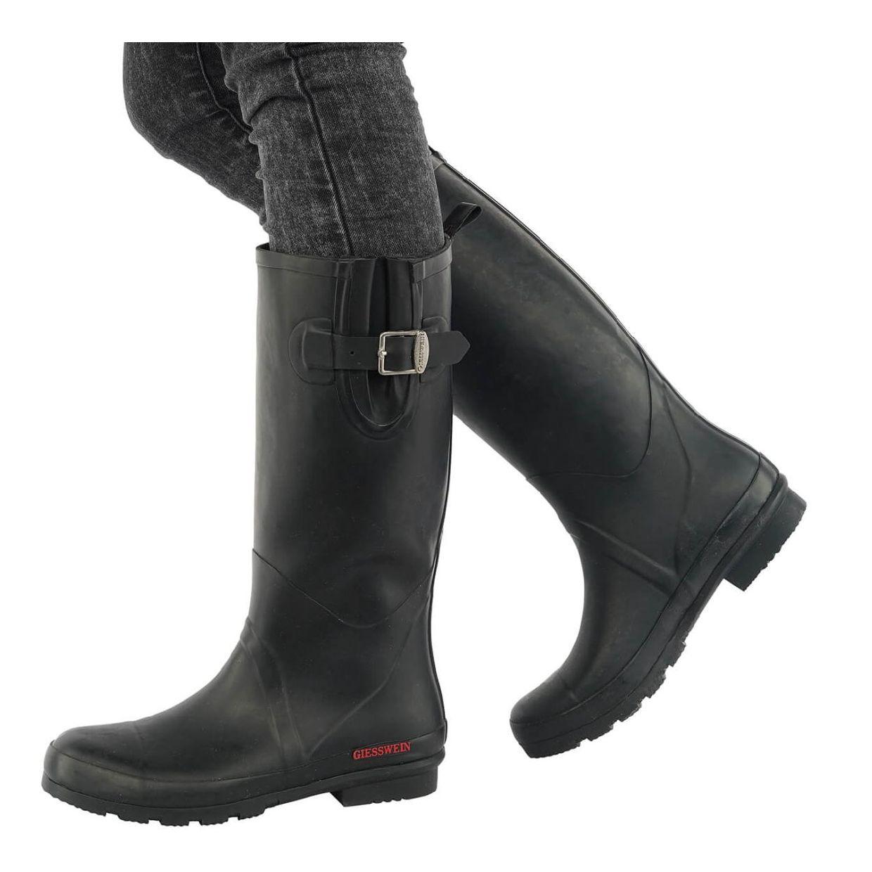 Giesswein Zwiedorf Stiefel Gummistiefel Gummi Damen Schuhe HW18