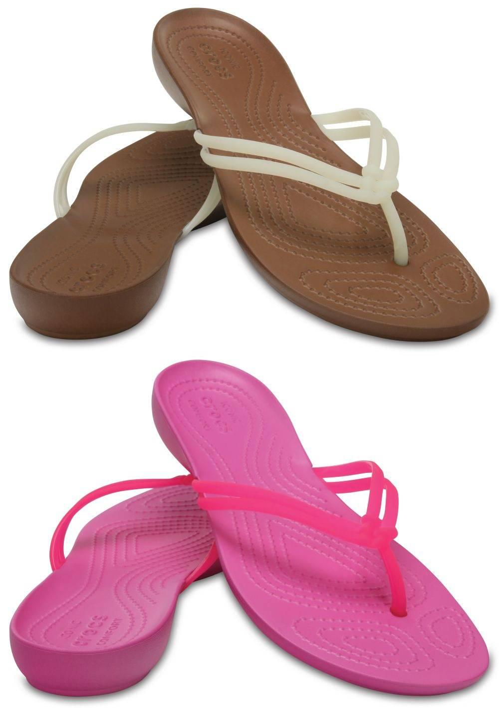 CROCS Isabella Flip Women Zehenstegsandale Schuhe