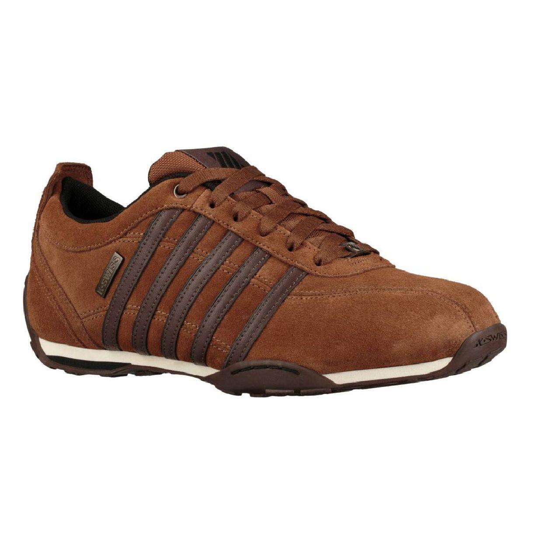 K-Swiss Arvee Suede Sneaker Halbschuhe Leder Herren Schuhe HW19