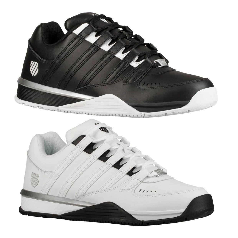 K-Swiss Baxter Sneaker Halbschuhe Leder Herren Schuhe FS19