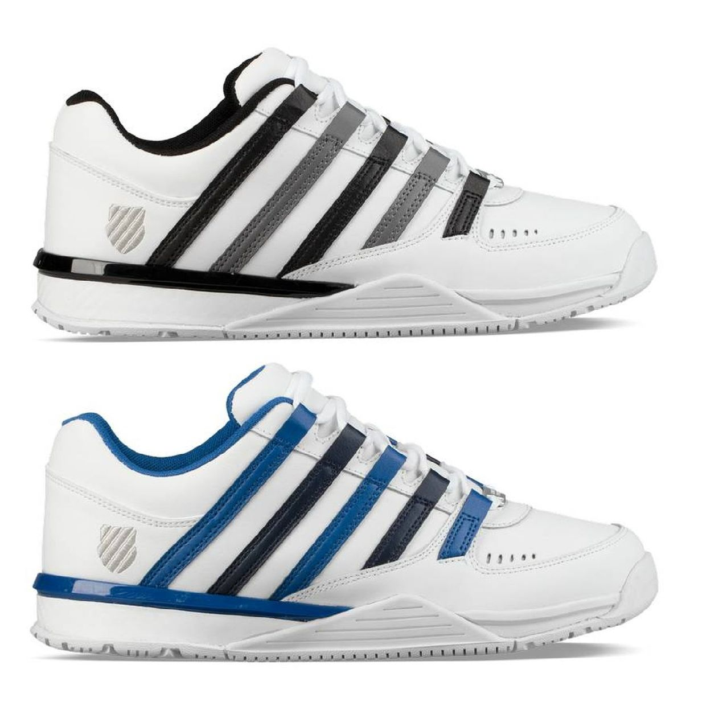 K-Swiss Baxter Sneaker Halbschuhe Leder Textil Herren Schuhe HW18
