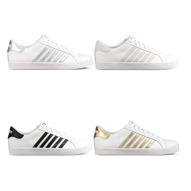 K-Swiss Belmont SO Sneaker Halbschuhe Leder Damen Schuhe FS18