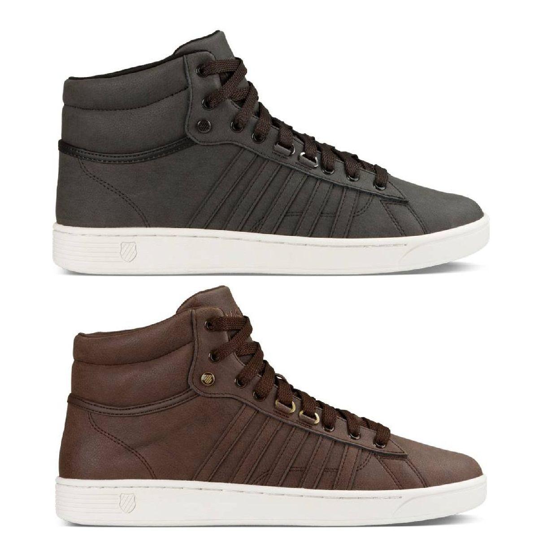 K-Swiss Hoke Mid CMF Sneaker Chukkas Leder Herren Schuhe HW18