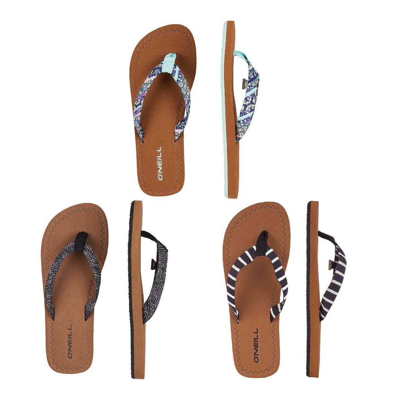 O´Neill Woven Strap Sandalen Zehentrenner EVA Damen Schuhe FS19