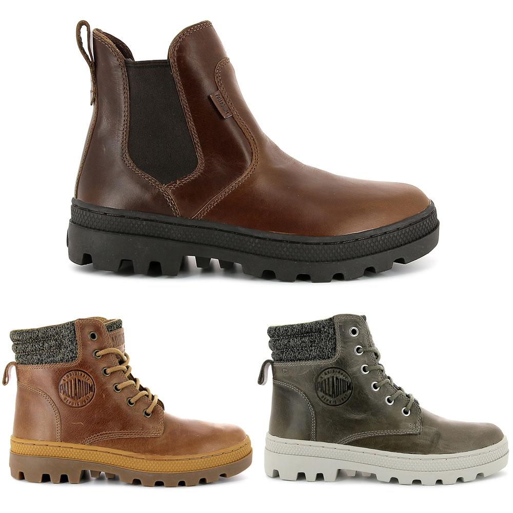 Palladium Pallabosse Hi Cuff L Schnürstiefel Boots hochwertiges Leder