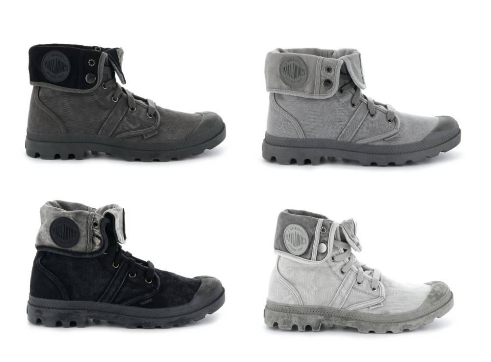PALLADIUM Pallabrouse Baggy Sneaker Stiefellette Canvas Textil Schuhe Herren