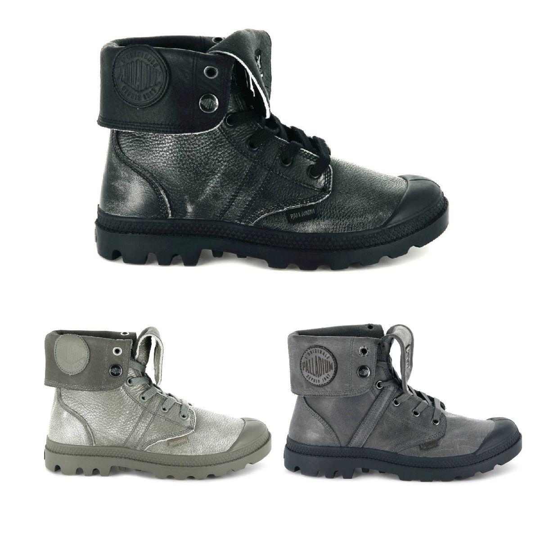Palladium Pallabrouse Baggy L2 Stiefel Schnürschuhe Leder Damen Schuhe HW18