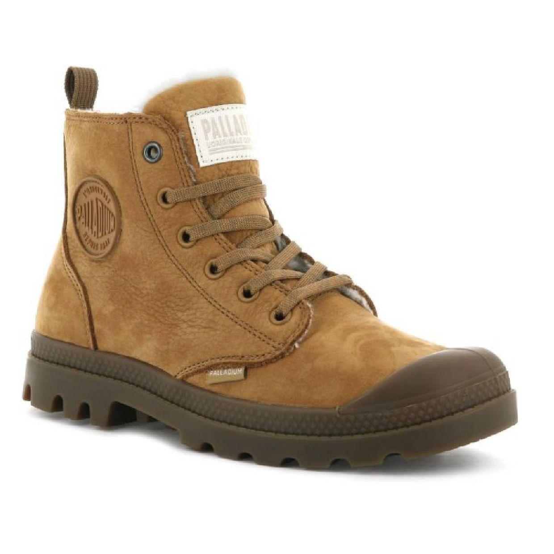 Palladium Pampa Hi Zip WL Stiefel Schnürschuhe Leder Damen Schuhe HW19