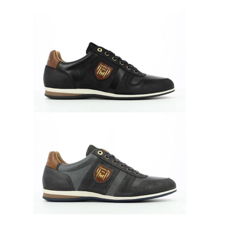 Pantofola d'Oro Asiago Uomo Low Sneaker Halbschuhe Glattleder Herren Schuhe HW19