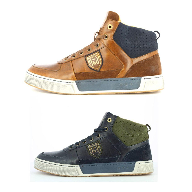 Pantofola d'Oro Frederico Uomo Mid Sneaker Chukkas Leder Herren Schuhe HW18