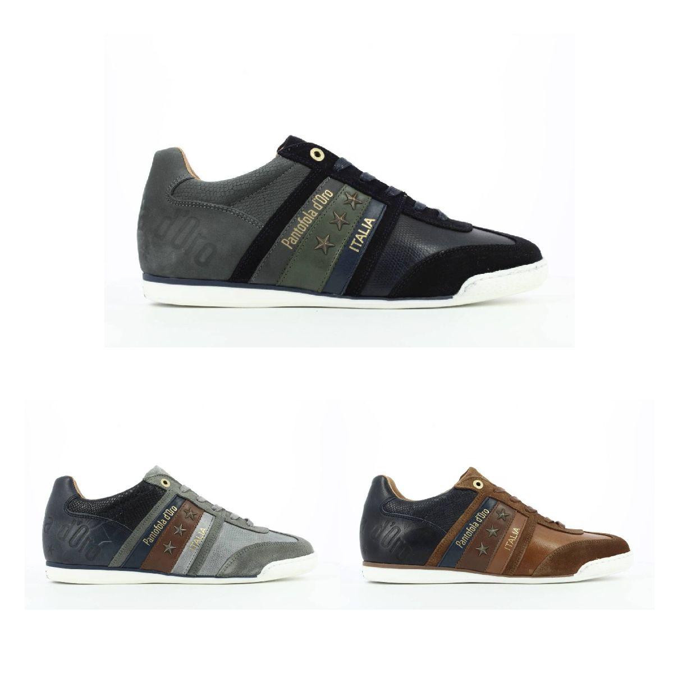 Pantofola d'Oro Imola Crocco Uomo Low Sneaker Glattleder Herren Schuhe HW19