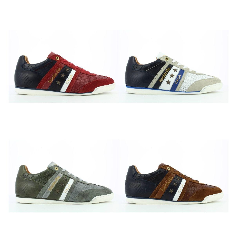 Pantofola d'Oro Imola Crocco Uomo Low Sneaker HalbLeder Herren FS19