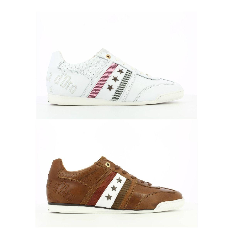 Pantofola d'Oro Imola Romagna Uomo Low Sneaker Glattleder Herren Schuhe HW19