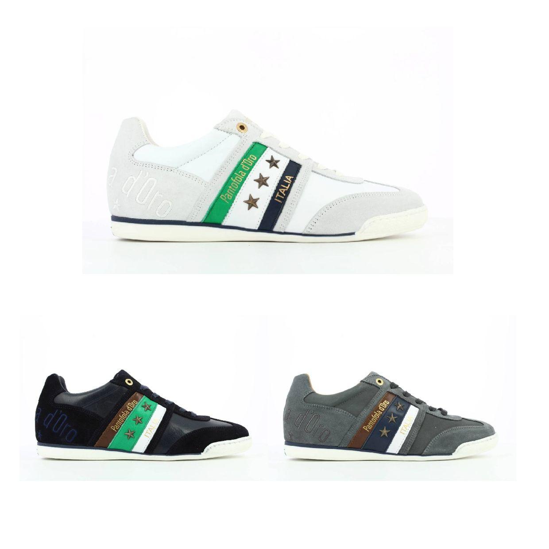Pantofola d'Oro Imola Uomo Low Sneaker Halbschuhe Glattleder Herren Schuhe HW19