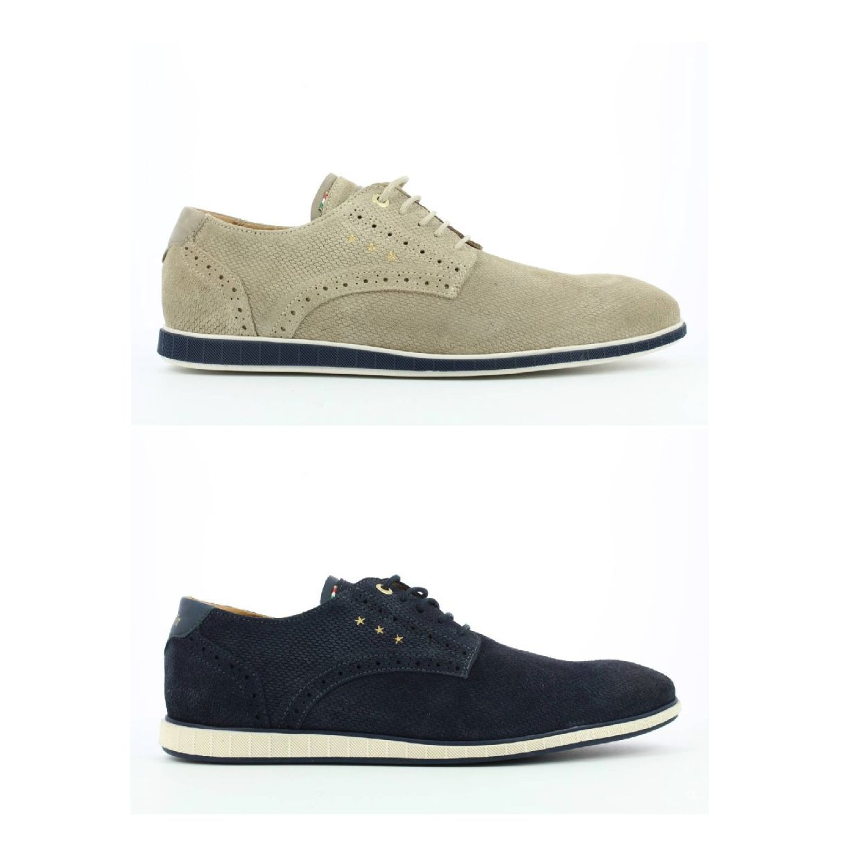 Pantofola d'Oro Lugo Suede Uomo Low Business-Schuhe Leder Herren Schuhe FS19