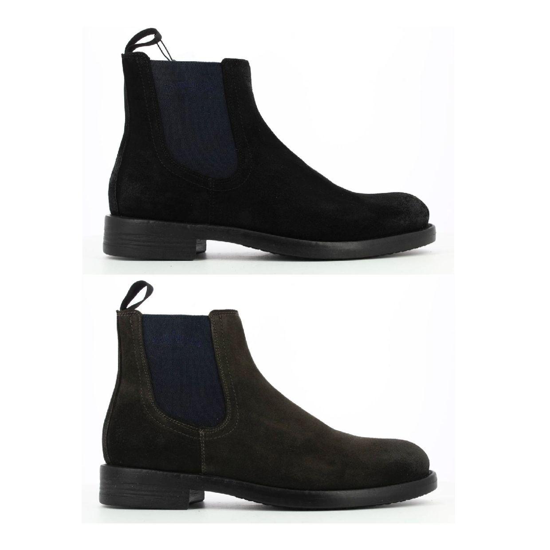 Pantofola d'Oro Luke Suede Chelsea Uomo High Stiefel Nubukleder Herren HW19