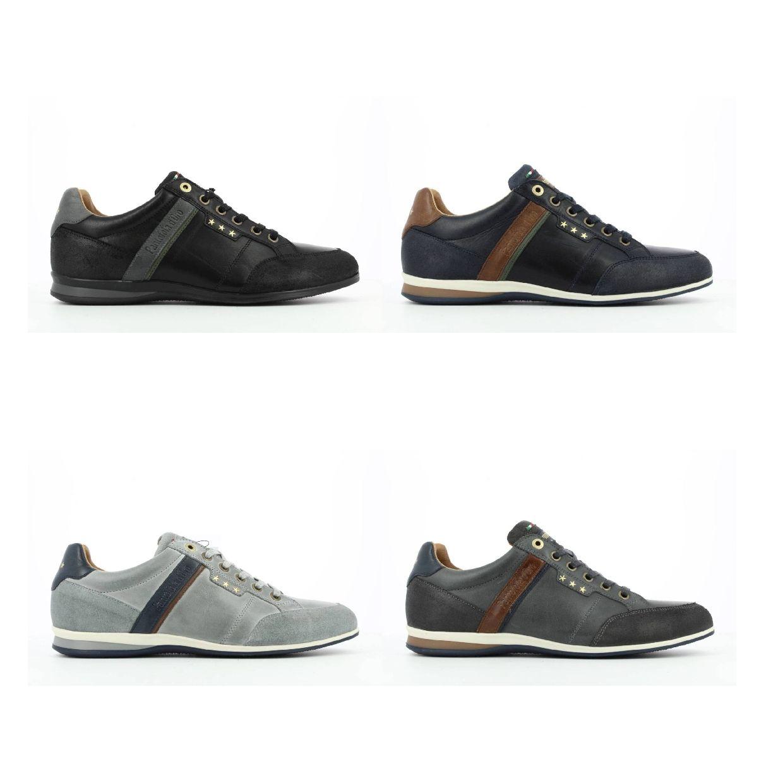 Pantofola d'Oro Roma Uomo Low Sneaker Halbschuhe Glattleder Herren Schuhe HW19