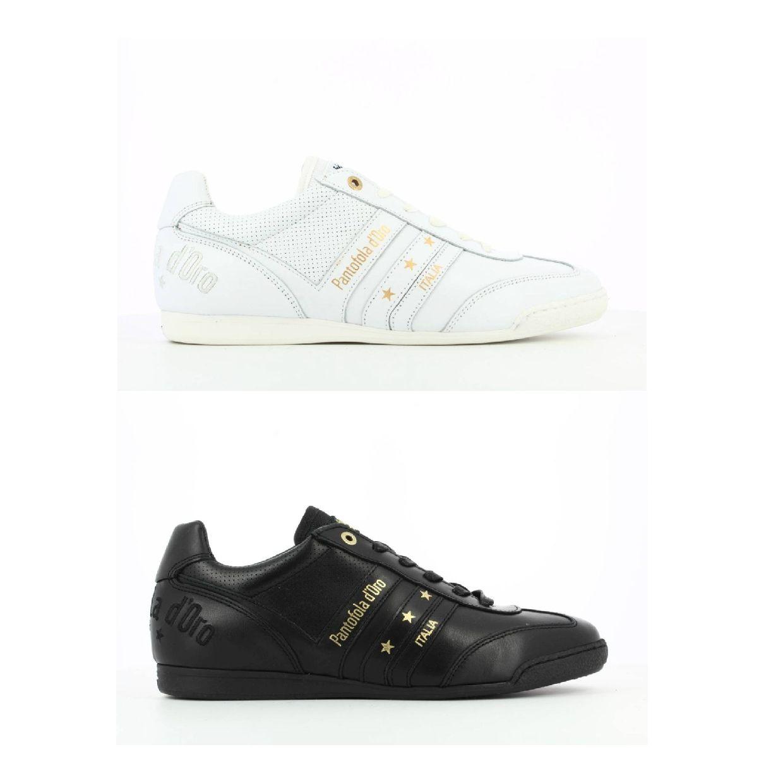 Pantofola d'Oro Vasto Classic Uomo Low Sneaker Glattleder Herren Schuhe HW19