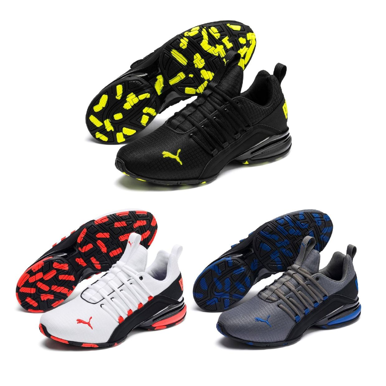 Puma Axelion Rip Sneaker Halbschuhe Textil Synthetik Herren Schuhe HW19