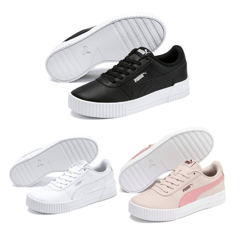 Puma Carina L Sneaker Halbschuhe Textil Synthetik Damen Schuhe HW19