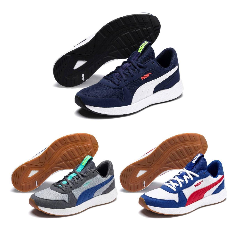 Detalles de Puma nrgy Neko retro cortos zapato bajo sintético textil caballero zapatos hw19 ver título original
